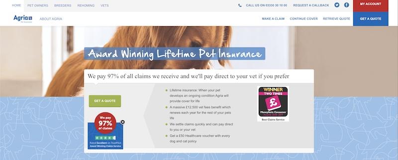 agria pet insurance affiliate program