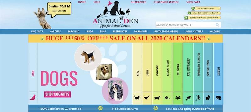 animal den affiliate program