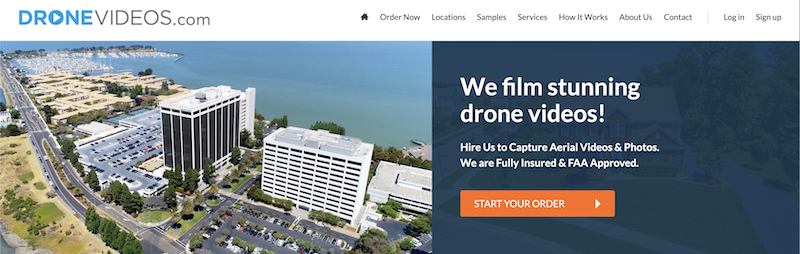 drone videos affiliate program