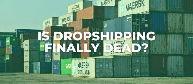 is aliexpress dropshipping dead