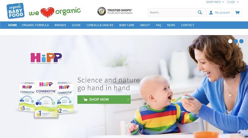 organic baby food affiliate programs