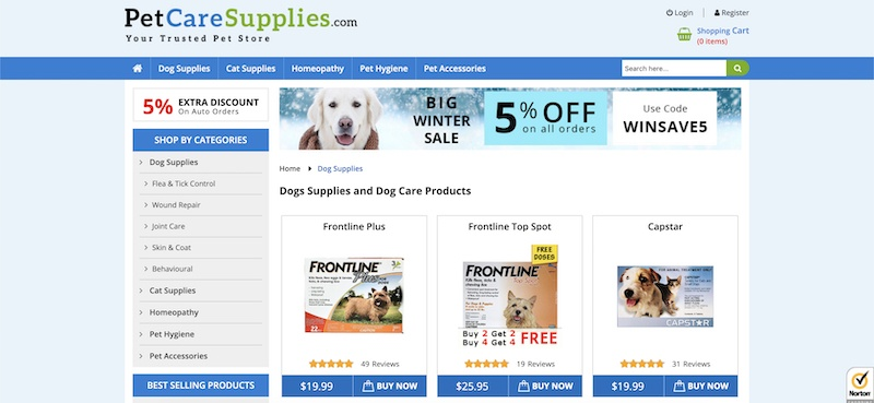 pet car supplies affiliate program
