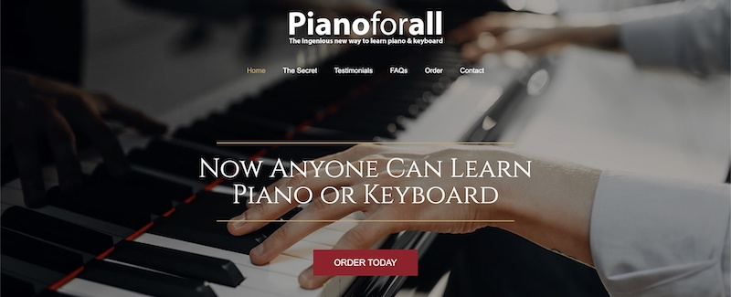 pianoforall affiliate program