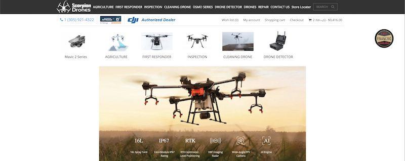 scorpion drones affiliate program