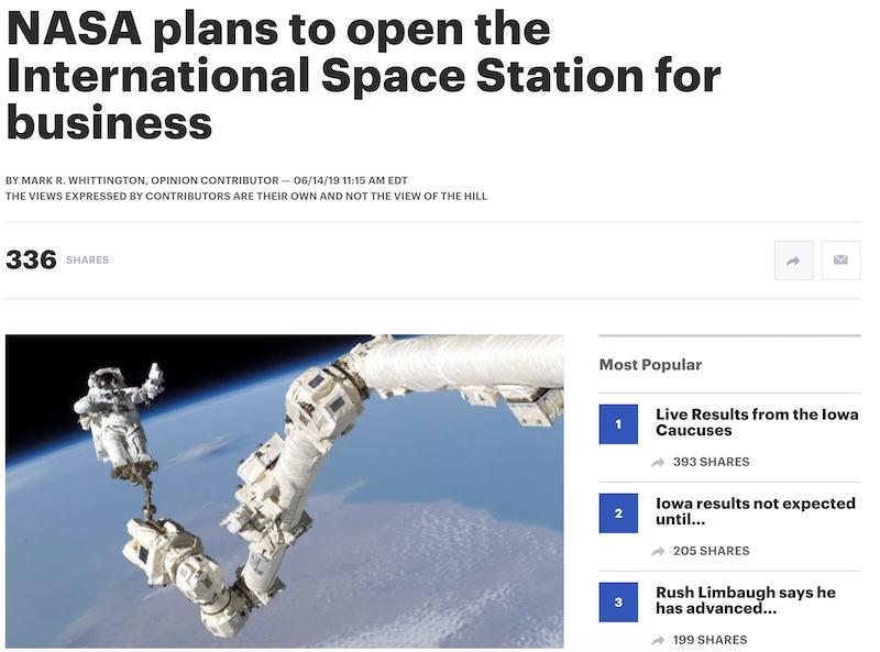 space station affiliate program