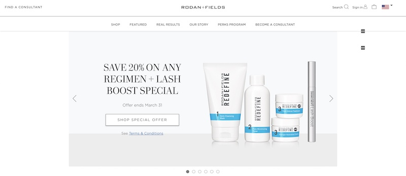 Rodan and Fields Skincare review