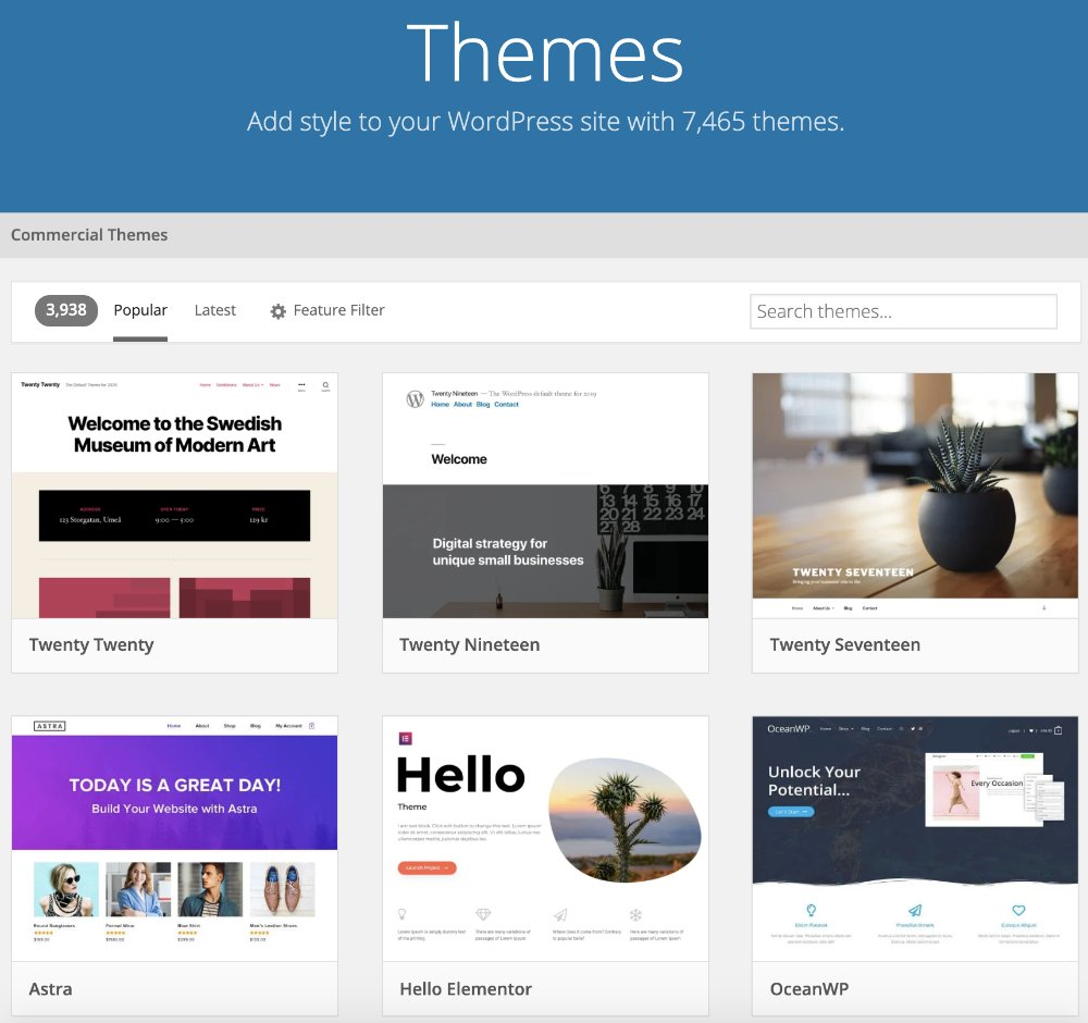 how to pick a theme for your wordpress blog