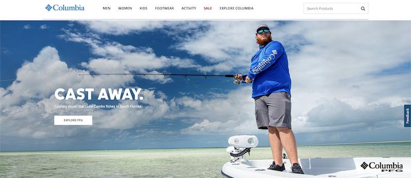 columbia fishing affiliate program