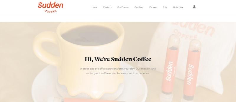 sudden coffee affiliate program