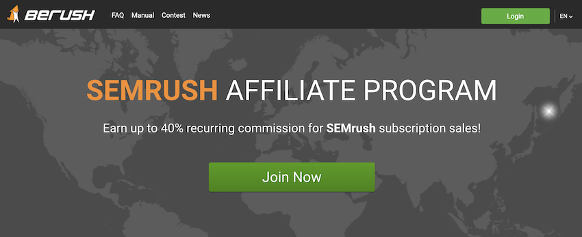 berush affiliate program review