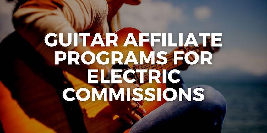 guitar affiliate programs