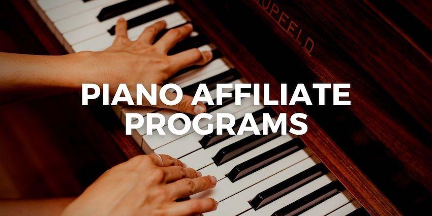 piano affiliate programs