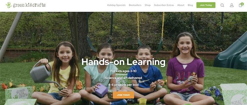 green kid crafts affiliate program