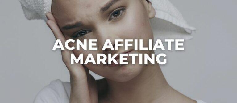 acne affiliate programs
