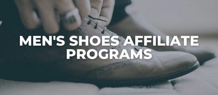 men's shoes affiliate programs