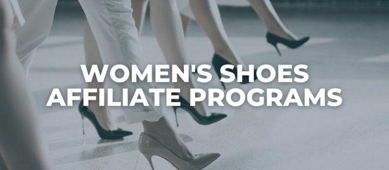 women's shoes affiliate programs